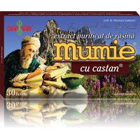 Extract de rasina mumie cu castan
