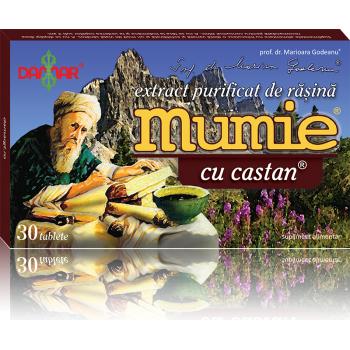 Extract de rasina mumie cu castan 30 tbl DAMAR