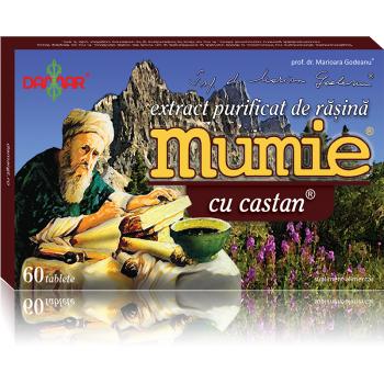 Extract de rasina mumie cu castan 60 tbl DAMAR