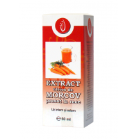 Extract uleios de morcov presat la rece