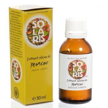 Extract uleios de morcov 30 ml SOLARIS