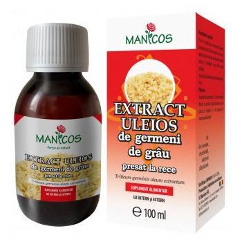 Extract uleios din germeni de grau 100 ml MANICOS