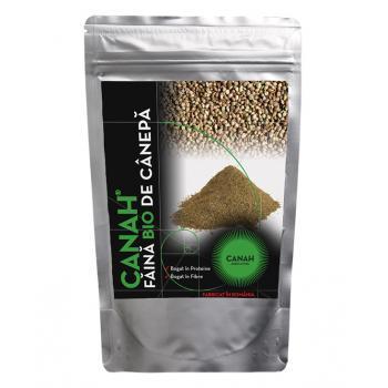 Faina din seminte de canepa, certificata ecologic 300 gr CANAH
