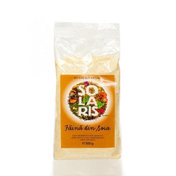 Faina din soia nemodificata genetic 500 gr SOLARIS