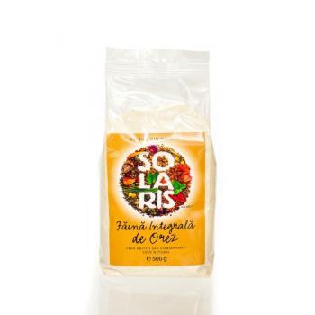 Faina integrala de orez 500 gr SOLARIS