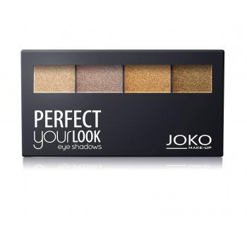 Fard de pleoape quattro perfect your look (paleta 402) 6 gr JOKO