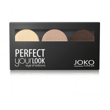 Fard de pleoape trio perfect your look (paleta 300) 5 gr JOKO