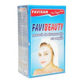 Favibeauty- masca cu argila a003 100 gr FAVISAN