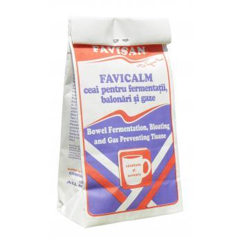 Favicalm ceai pentru fermentatii, balonari si gaze a049 50 gr FAVISAN