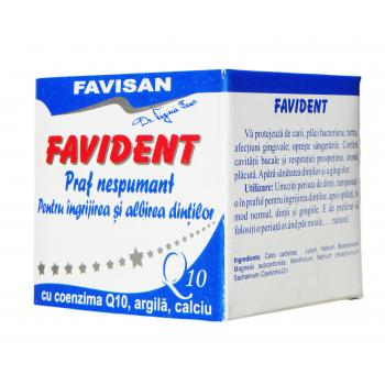 Favident praf nespumant cu coenzima Q10 q006 50 gr FAVISAN
