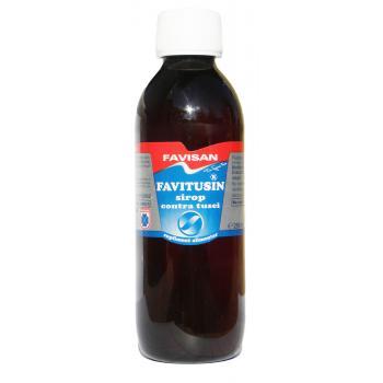 Favitusin sirop contra tusei j012 250 ml FAVISAN