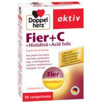 Fier +vitamina c +histidina +acid folic