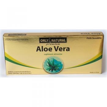 Fiole cu aloe vera 10 ml 10 ml ONLY NATURAL
