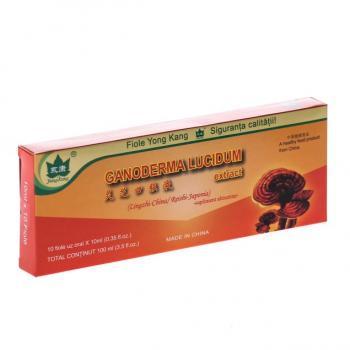 Fiole cu extract de ganoderma lucidum 10ml 10 ml YONG KANG
