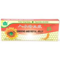 Fiole cu extract de ginseng & royal jelly 10ml