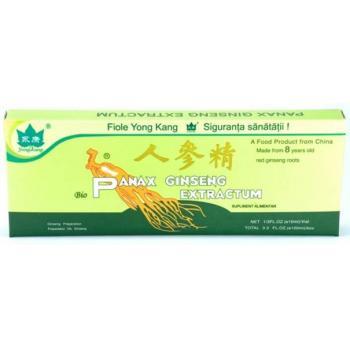 Fiole cu extract de panax ginseng 10ml 10 ml YONG KANG