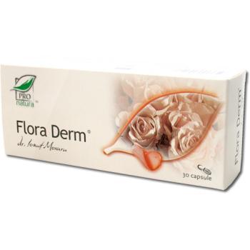 Flora derm 30 cps PRO NATURA