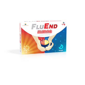 Fluend hot drink 12 pl SUN WAVE PHARMA