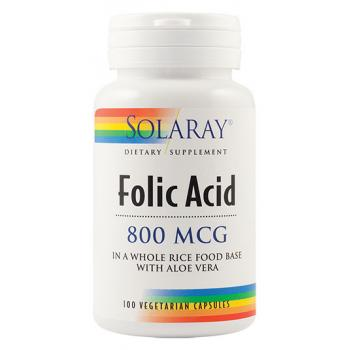 Folic acid 100 cps SOLARAY
