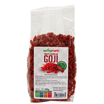 Fructe uscate goji 250 gr SPRINGMARKT