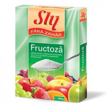 Fructoza 400 gr SLY NUTRITIA