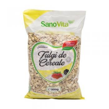 Fulgi de cereale 500 gr SANO VITA