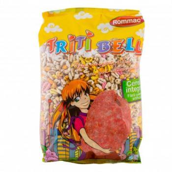 Fulgi din grau integral (pufarine) cu aroma de fructe 200 gr ROMMAC