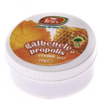 Crema de galbenele si propolis p117 20 ml FARES