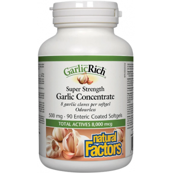Garlic Rich  90 cps NATURAL FACTORS