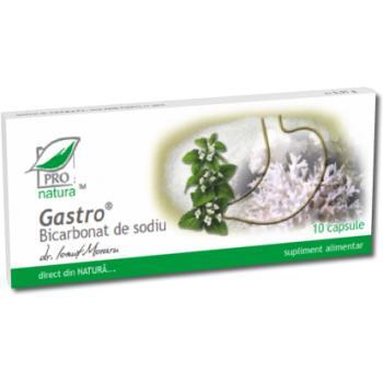 Gastro bicarbonat de sodiu 10 cps PRO NATURA