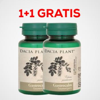 Gastrocalm 60cpr PROMO 1+1 GRATIS 2 gr DACIA PLANT