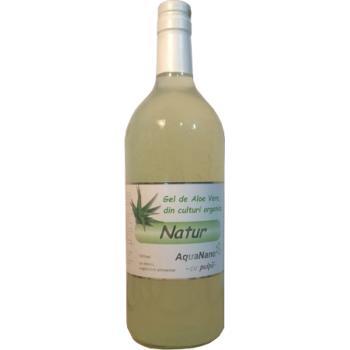Gel aloe natur cu pulpa 1 ml AQUANANO