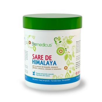 Gel cu sare de himalaya si lavanda 250 ml BIOMEDICUS