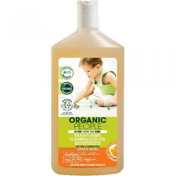 Gel eco gresie cu portocale si tea tree  500 ml ORGANIC PEOPLE