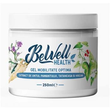 Gel mobilitate optima 250 ml BEWELL HEALTH