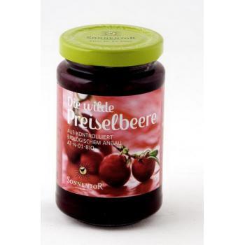 Gem de merisoare-afine rosii (fara zahar) 250 gr SONNENTOR