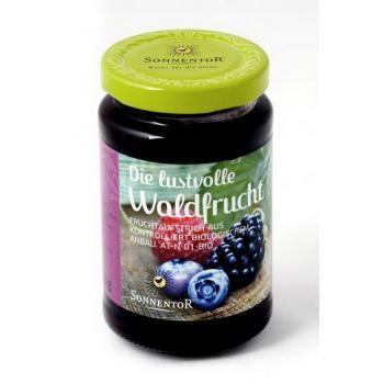 Gem din fructe de padure (fara zahar) 250 gr SONNENTOR
