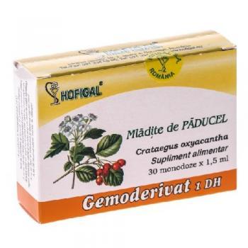 Gemoderivat din mladite de paducel - monodoze 30 ml HOFIGAL