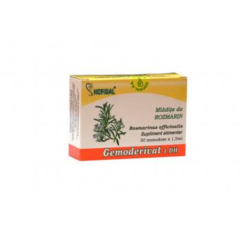 Gemoderivat din mladite de rozmarin - monodoze 30 ml HOFIGAL