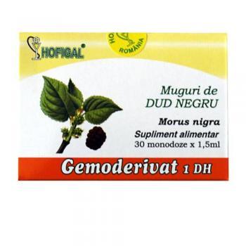 Gemoderivat din muguri de dud negru - monodoze 30 ml HOFIGAL