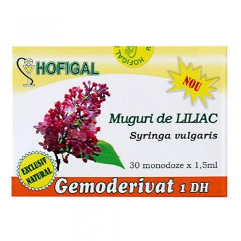 Gemoderivat din muguri de liliac - monodoze 30 ml HOFIGAL