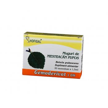 Gemoderivat din muguri de mesteacan pufos - monodoze 30 ml HOFIGAL