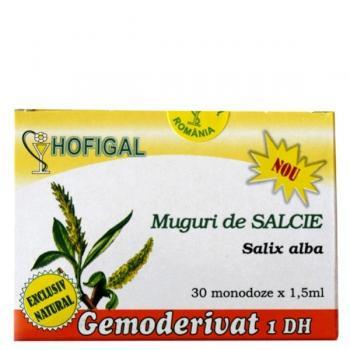 Gemoderivat din muguri de salcie - monodoze 30 ml HOFIGAL