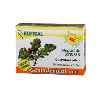 Gemoderivat din muguri de stejar - monodoze 30 ml HOFIGAL