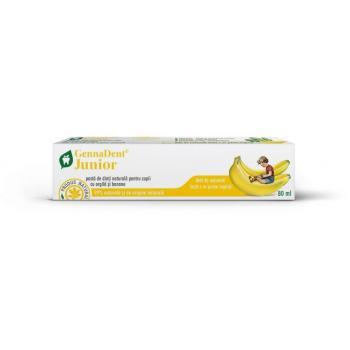 Gennadent pasta dinti junior cu banane 80 gr VIVA NATURA