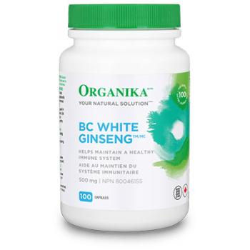 Ginseng alb  de BC 90 cps ORGANIKA