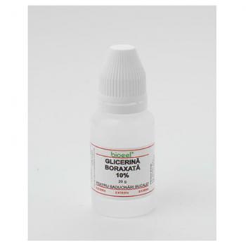 Glicerina boraxata 10% 20 ml BIOEEL