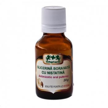 Glicerina boraxata cu nistatina 20 ml INFOFARM