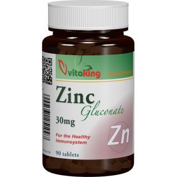Gluconat de zinc 30mg 90 cpr VITAKING