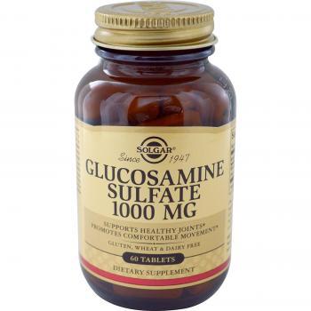 Glucosamine sulfate 1000 mg 60 tbl SOLGAR